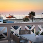 La Spiaggia Cesenatico - Vista porto canale